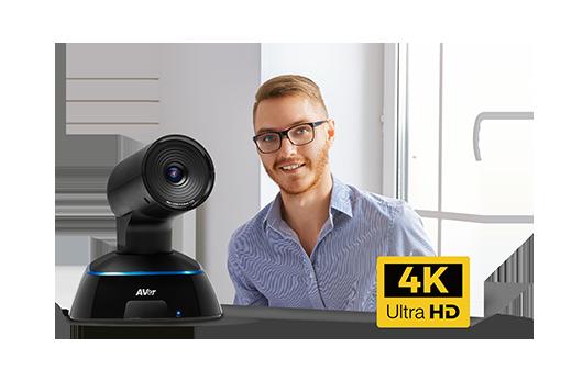 Una verdadera experiencia cara a cara con la cámara PTZ 4K