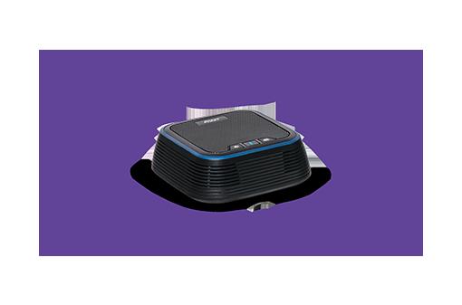 Potente altavoz con recepción de 360°